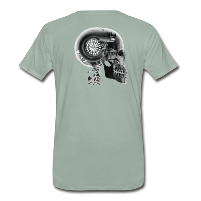KC Skull Turbo T-Shirt - steel green