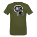 KC Skull Turbo T-Shirt - olive green