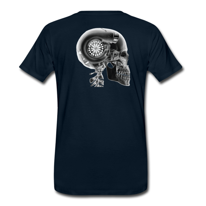 KC Skull Turbo T-Shirt - deep navy
