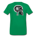 KC Skull Turbo T-Shirt - kelly green