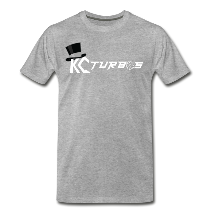 KC Louder Than Your Mom T-Shirt - heather gray