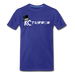 KC Louder Than Your Mom T-Shirt - royal blue