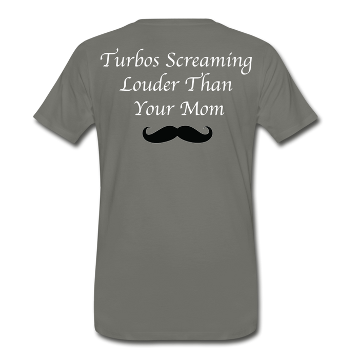 KC Louder Than Your Mom T-Shirt - asphalt gray