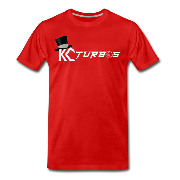 KC Louder Than Your Mom T-Shirt - red