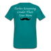 KC Louder Than Your Mom T-Shirt - teal