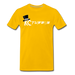 KC Louder Than Your Mom T-Shirt - sun yellow