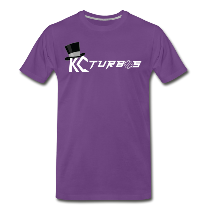 KC Louder Than Your Mom T-Shirt - purple