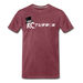 KC Louder Than Your Mom T-Shirt - heather burgundy