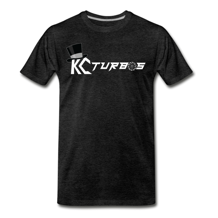 KC Louder Than Your Mom T-Shirt - charcoal gray