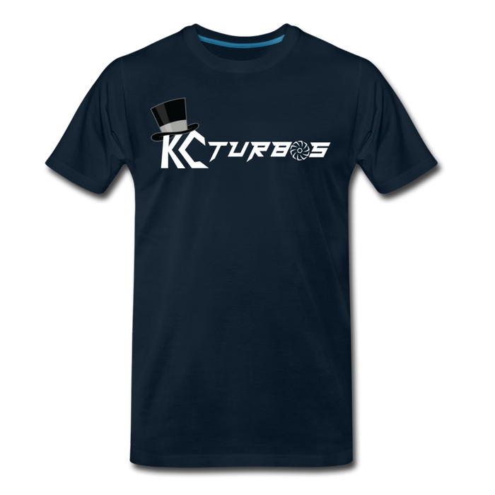 KC Louder Than Your Mom T-Shirt - deep navy