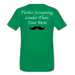 KC Louder Than Your Mom T-Shirt - kelly green