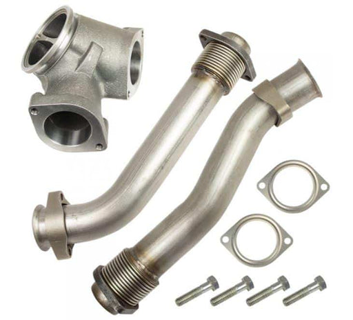 BD-Power Bellowed UP-PIPES - 7.3 POWERSTROKE  (L99-03)