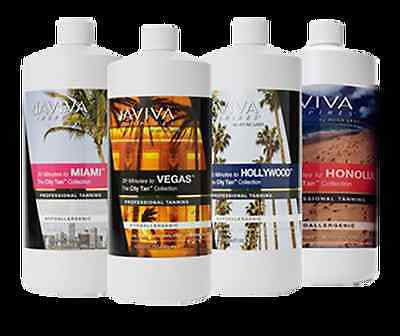 Aviva Inspires Airbrush Spray Tanning Solution - 1 Liter Vegas, Miami, Honolulu