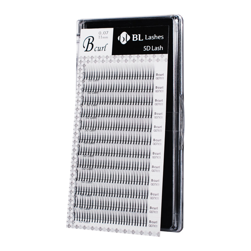 Blink BL VOLUME 5D Lashes - PRE-MADE FANS - C Curl Eyelash Extension Trays