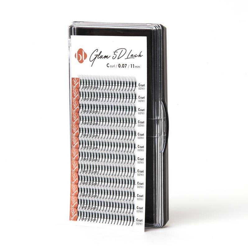 Blink BL VOLUME  GLAM 5D Lashes - PRE-MADE FANS - D Curl