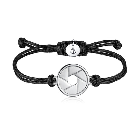 White Venture Anchor Bracelet