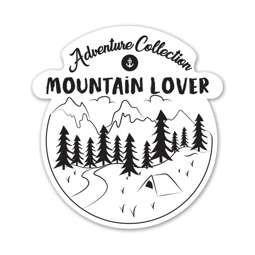 MOUNTAIN LOVER STICKER