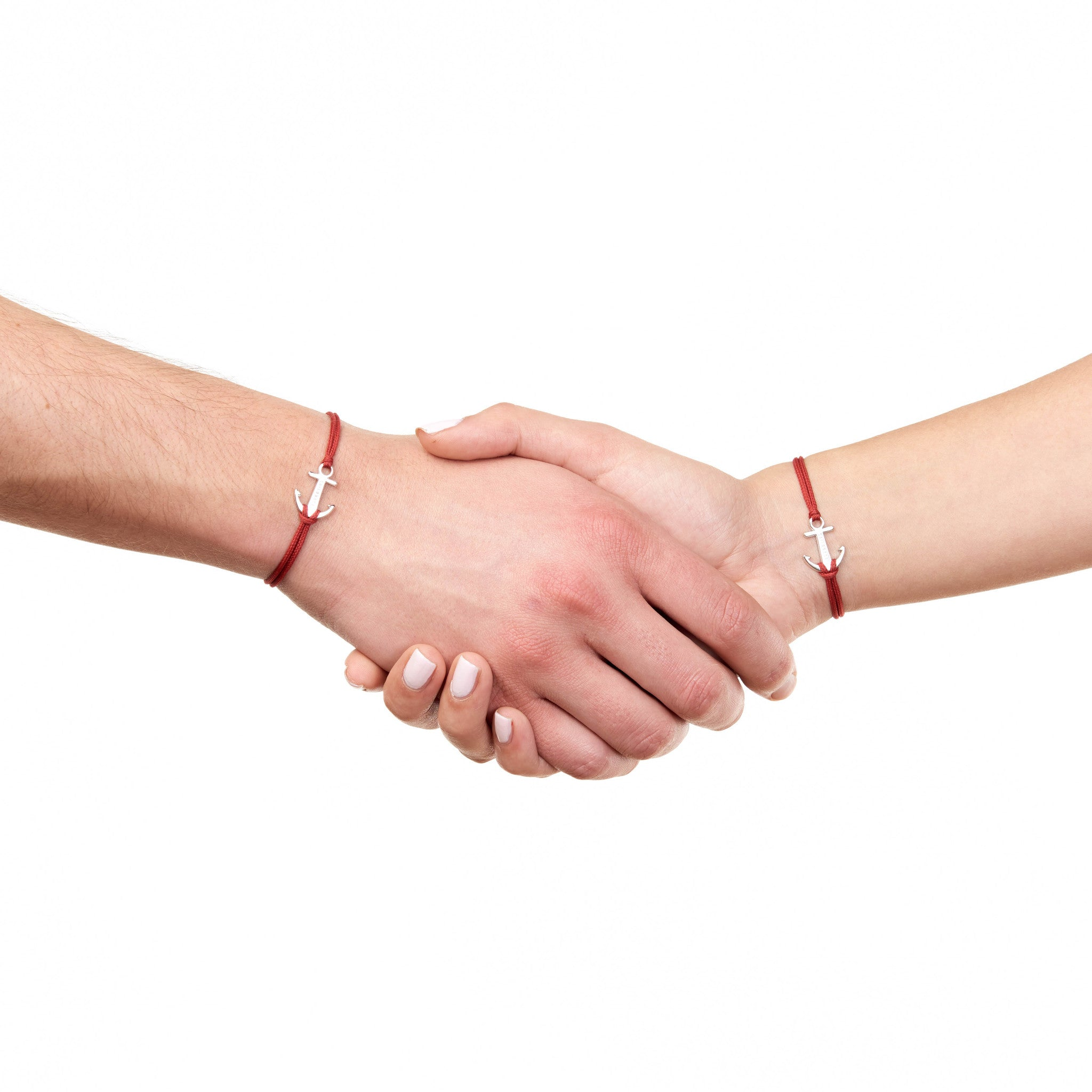 Burgundy red bracelet friendship