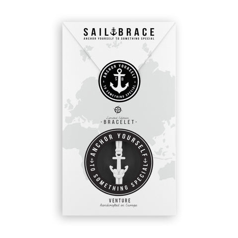 Spaceblack Pack Anchor Bracelet - Coal & Camo Spaceblack