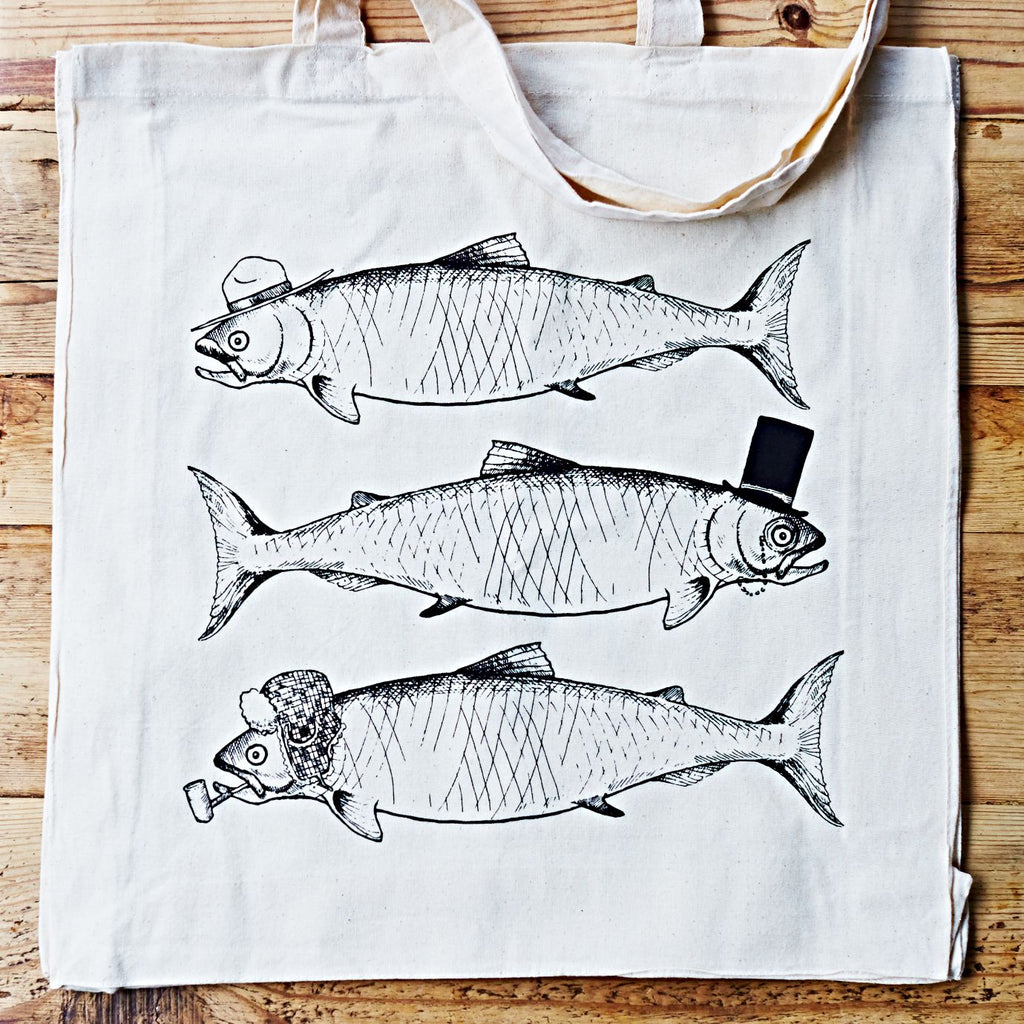 The Pished Fish Limited Edition Tote Bag (1 of 250)