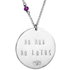 No Mud No Lotus (sterling or gold) - Blooming Lotus Jewelry