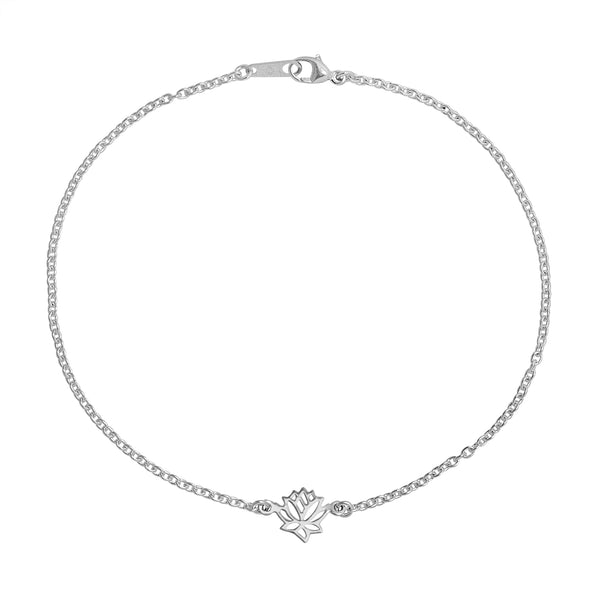 Blooming Lotus Anklet - Blooming Lotus Jewelry