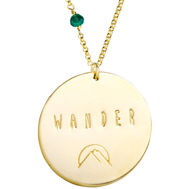 Wander (sterling or gold) - Blooming Lotus Jewelry