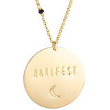 Manifest (sterling or gold) - Blooming Lotus Jewelry