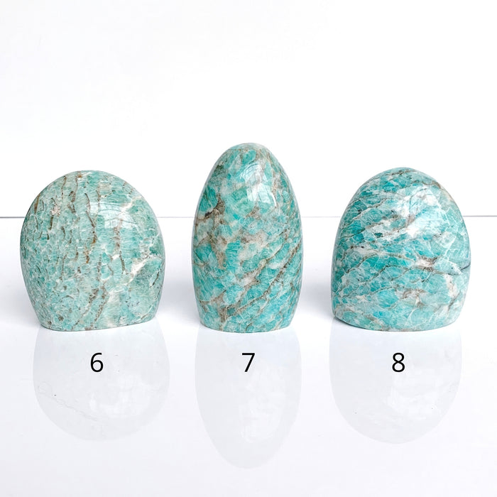 Amazonite Free-Form | Harmony + Peace