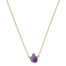 Amethyst Nugget Necklace | Gold