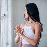 Heal Yourself Mala (guided meditation with purchase) - Blooming Lotus Jewelry