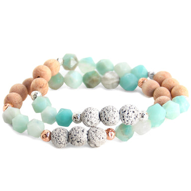 Breathe Deep Bracelet | Amazonite