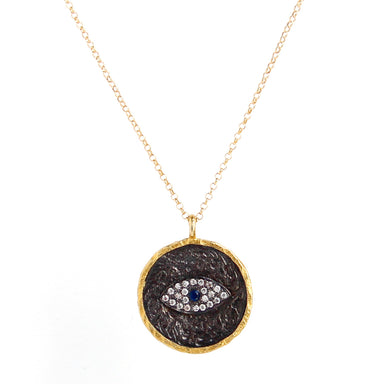 Evil Eye Gold Vermeil Necklace