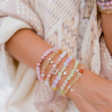 Begin Again Bracelet | Kunzite, Prehnite, Citrine