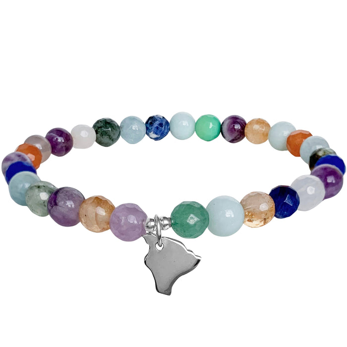 Home Sweet Home Bracelet | Hawaii | Mixed Gemstones