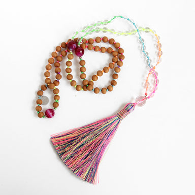 Kaleidoscope Mala - Blooming Lotus Jewelry