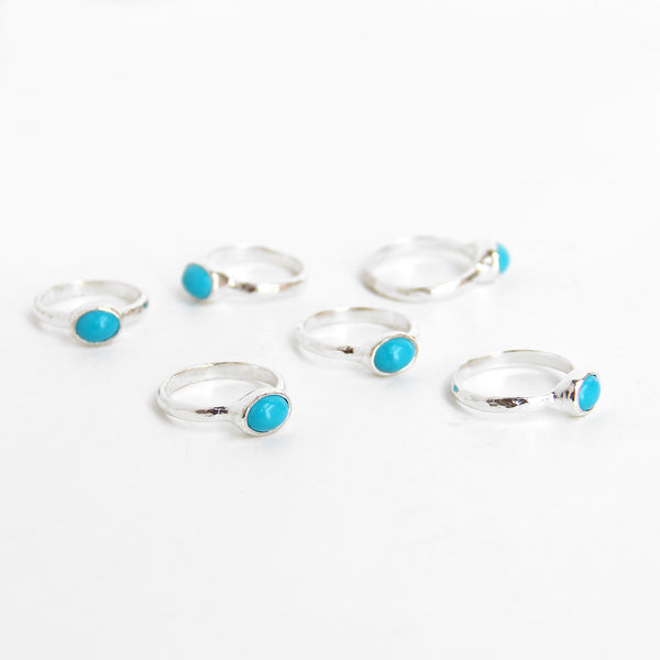 Sleeping Beauty Turquoise Ring | sterling