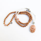 New Beginnings Mala - Blooming Lotus Jewelry