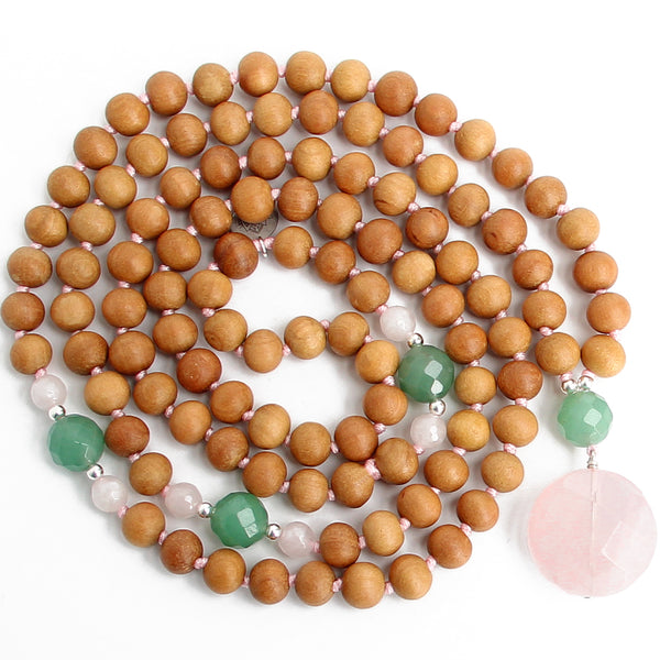 Open Heart Mala - Blooming Lotus Jewelry