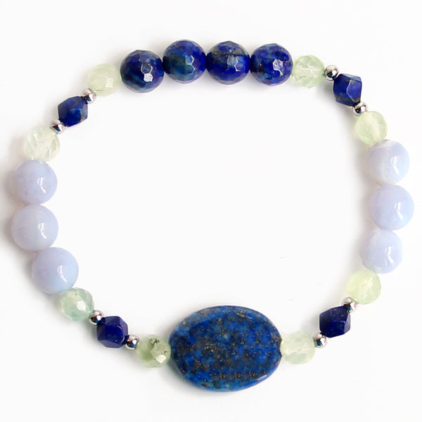 Intuition Bracelet - Gemstone Bracelet - Blooming Lotus Jewelry