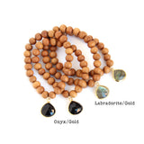 Gypstones (sandalwood) Limited Edition - Blooming Lotus Jewelry