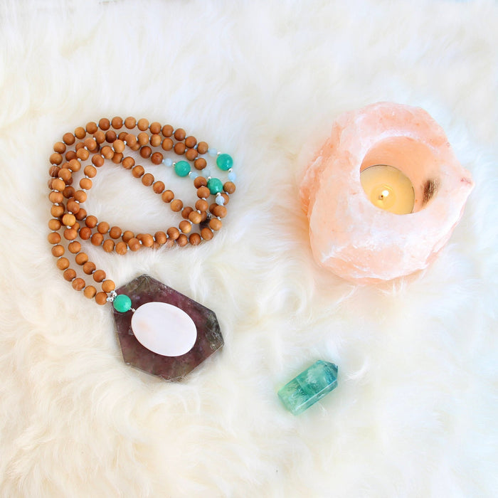 Take Me to the Sea Mala - Blooming Lotus Jewelry