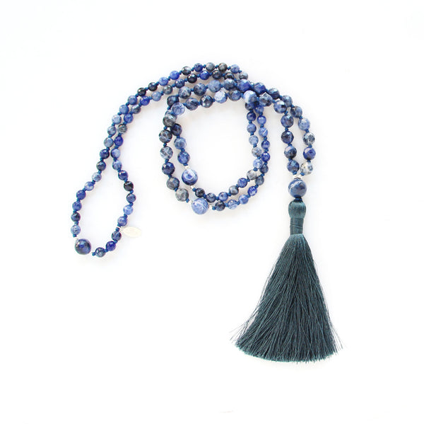 I Am Intuitive Mala (Brow Chakra) - Blooming Lotus Jewelry