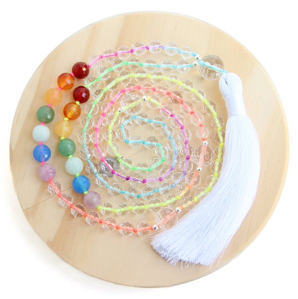 Wheel of Light Mala - Blooming Lotus Jewelry