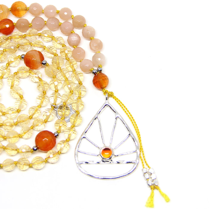 Sunrise Mala | Sterling