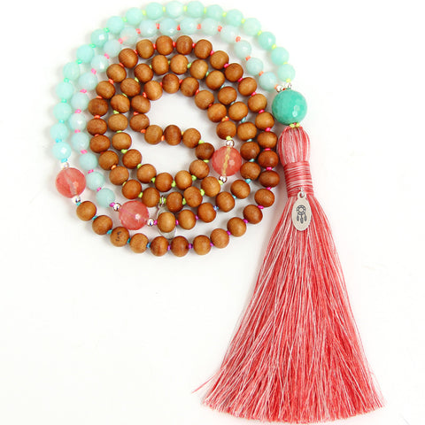 I Am Honest Mala (Throat Chakra)