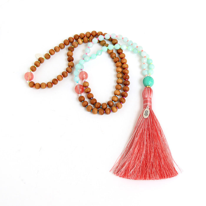 Dream On Mala - Blooming Lotus Jewelry