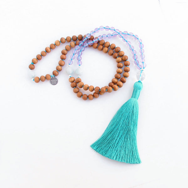 Highest Self Mala - Blooming Lotus Jewelry
