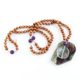 Clarity Mala - Blooming Lotus Jewelry