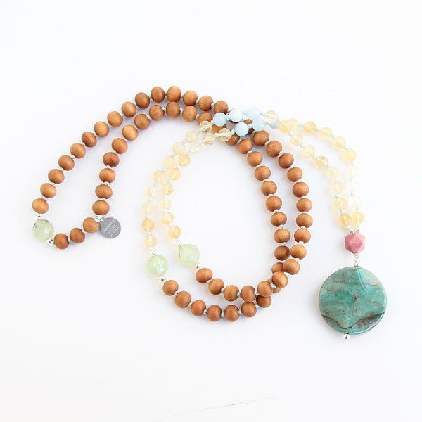 Gaia Mala - Blooming Lotus Jewelry
